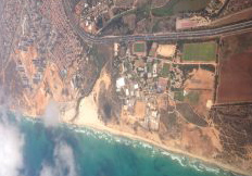 Israel from the Airplane