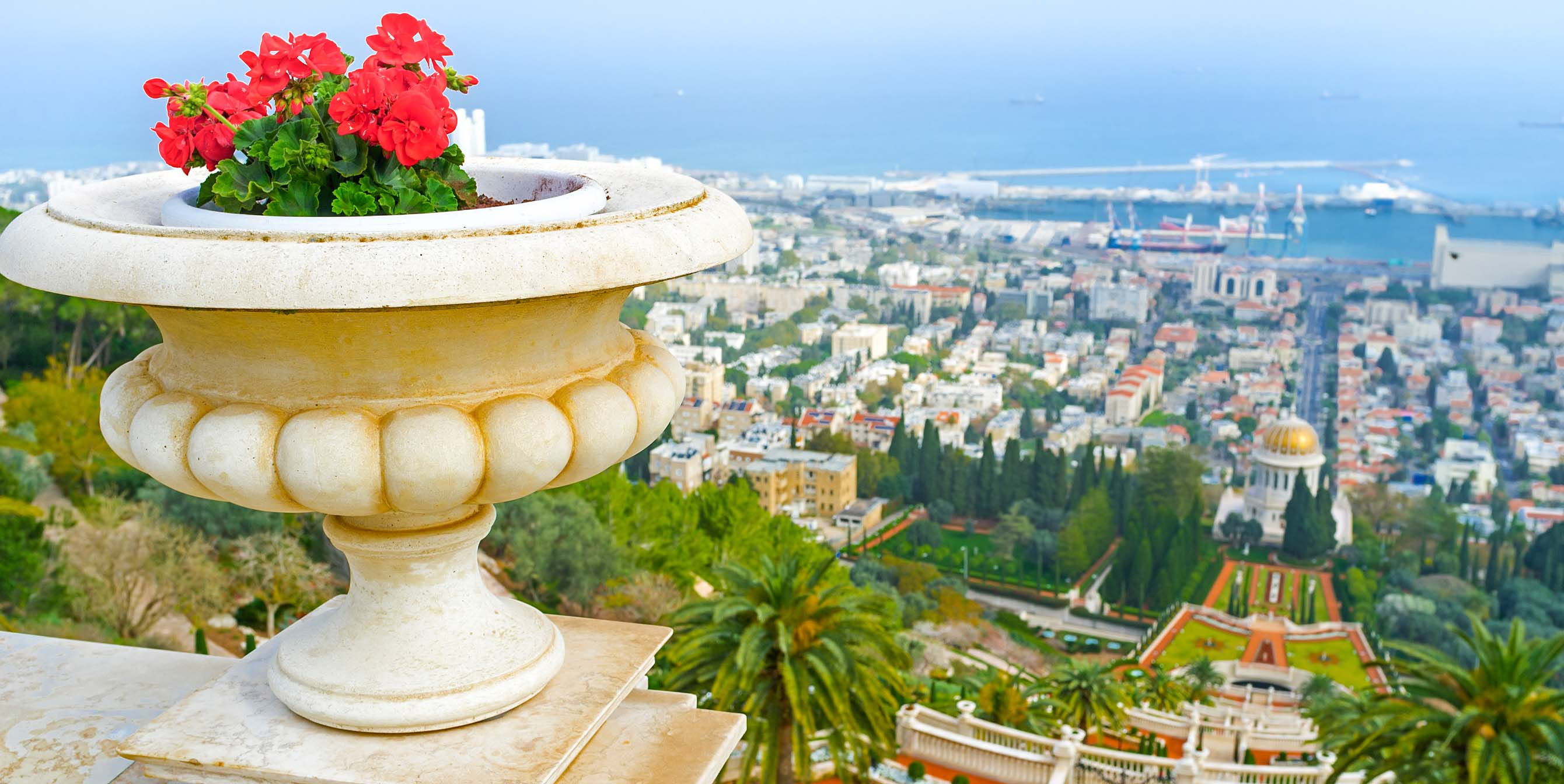 View overlooking Tel Aviv
