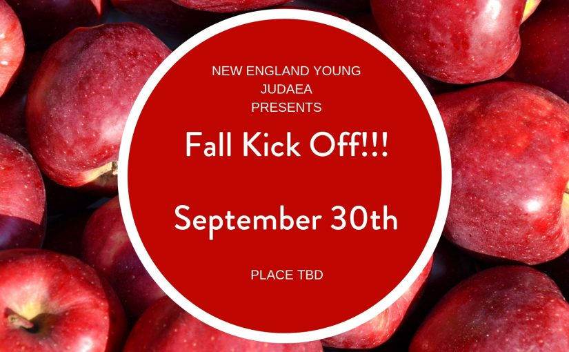 New England YJ – Kick Off: Apple Picking
