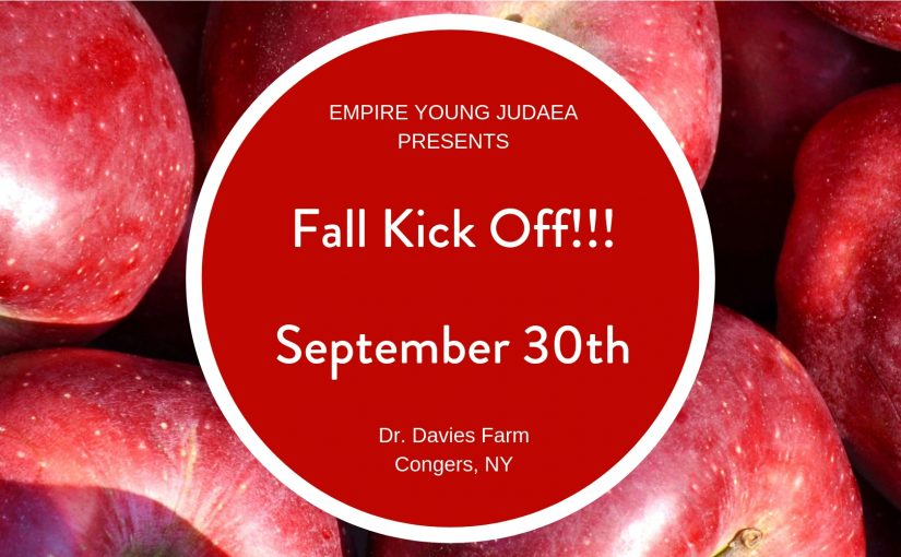 Young Judaea Empire: Apple Picking Kick Off