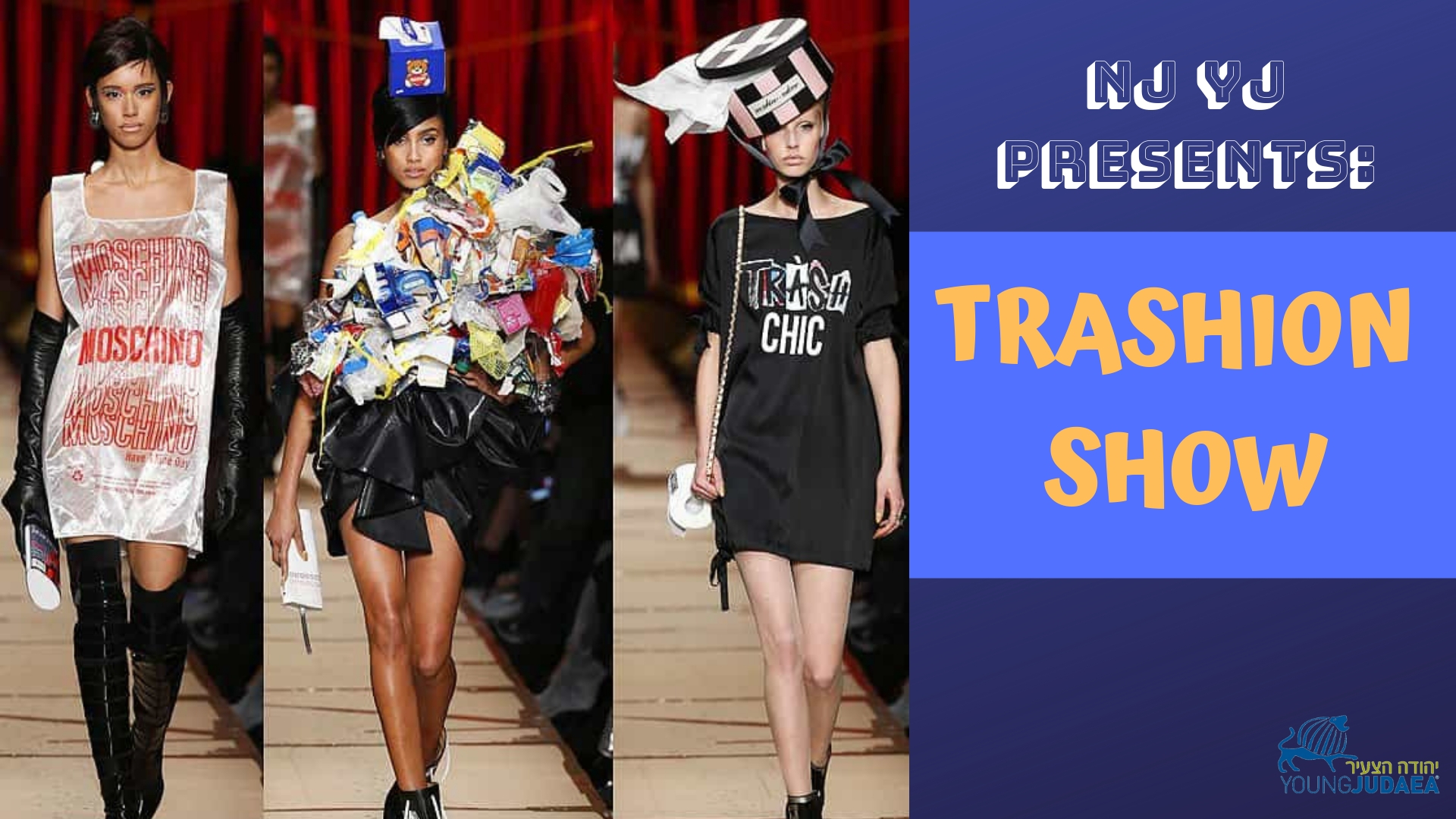 Trashion Show New Jersey Young Judaea Young Judaea