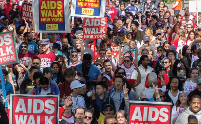 NYC AIDS Walk 2019