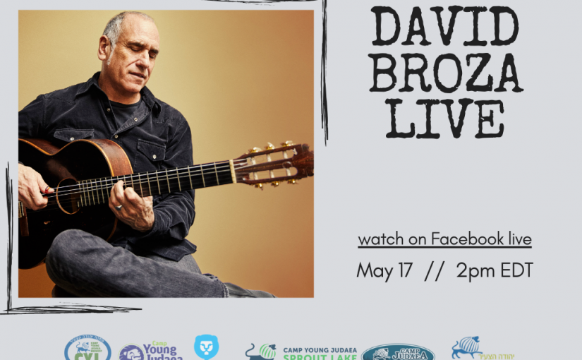 Young Judaea Presents: David Broza Live!